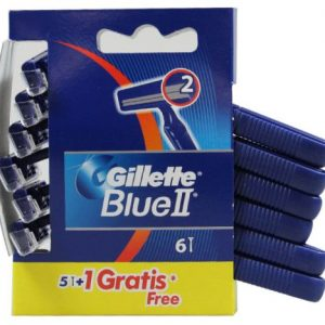 Gillette Blue II 6 Razors pack