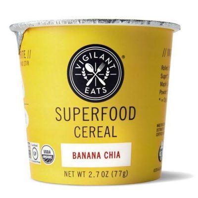 Superfood Cereal, Banana Chia , 2.3oz
