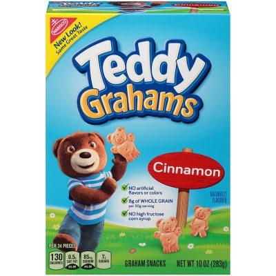 Teddy Grahams, Cinnamon, 10oz