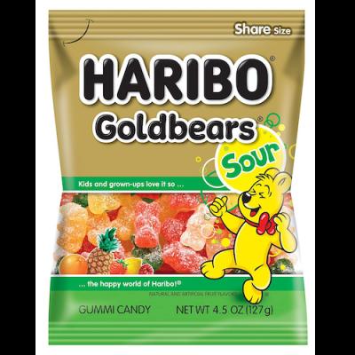 Haribo, Goldbears Sour, 4.5oz