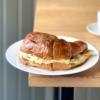Mushroom, Egg, & Cheese on Croissant
