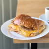 Sausage, Egg, & Cheese on Croissant