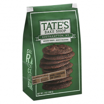 Tates, Double Chocolate Chips, 7oz