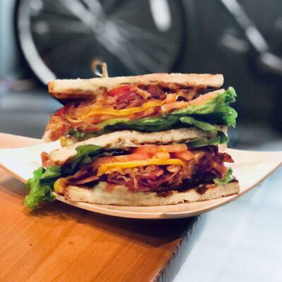 Monster BLT Sandwich