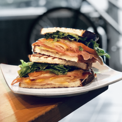 Toasted Monte Cristo Sandwich