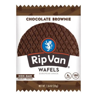 RipVan, Chocolate Brownie, 1.16oz
