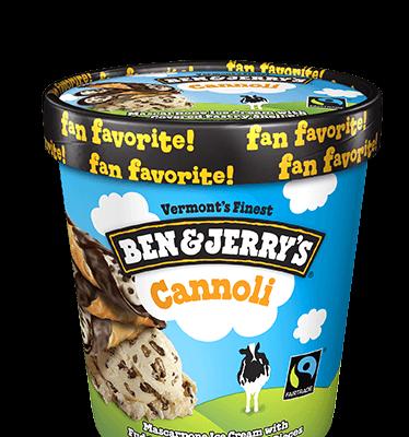 Ben & Jerry's Cannoli, Pint