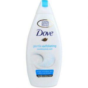 Dove body wash gentle exfoliating 500ml