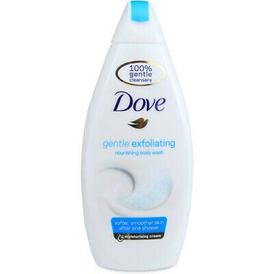 Dove body wash gentle exfoliating 500ml