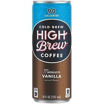 Highbrew, Mexican Vanilla, 8 Oz