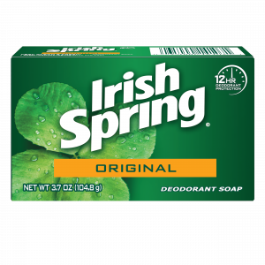 Irish Spring soap, piece