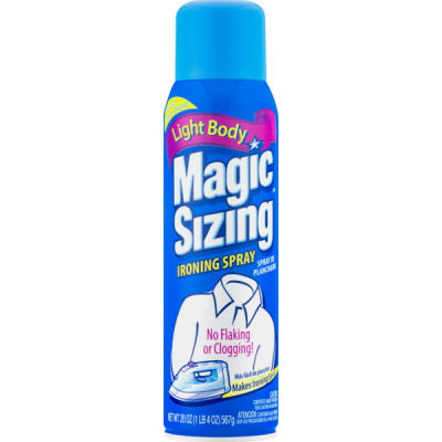 Magic Sizing Ironing Spray, 20oz