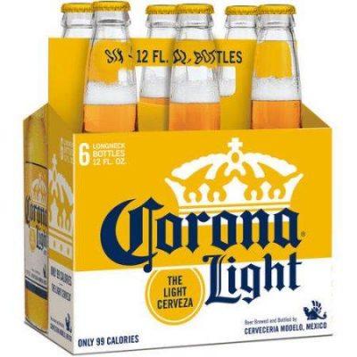Corona Light, 6 pack, 12oz bottle